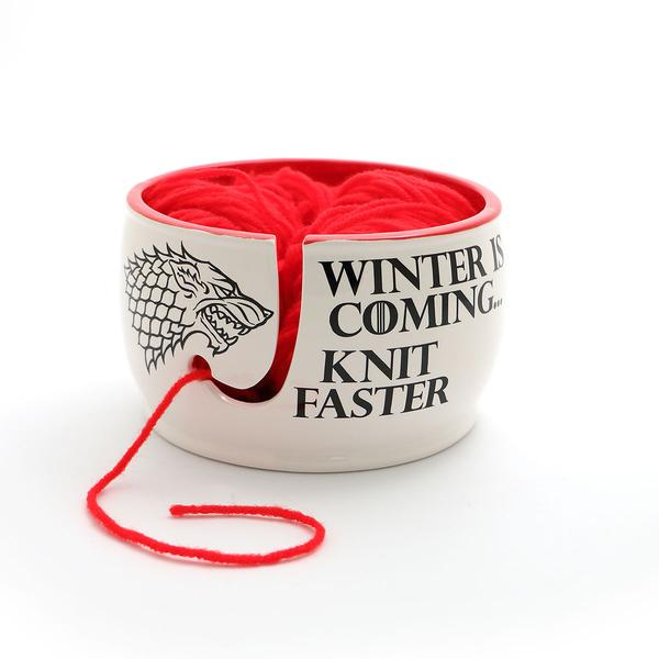 Winter is Coming, Knit Faster