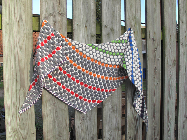 Ice ream Shawl via Ravelry
