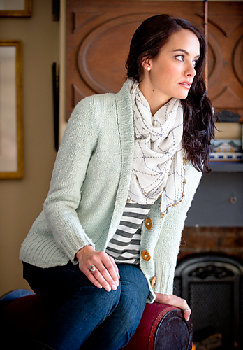 Fable Cardigan image via Ravelry