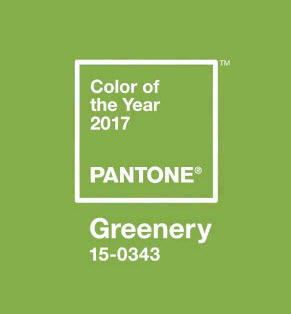 Pantone Color of the Year Greenery