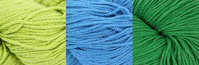 Berroco Weekend DK in spring colors