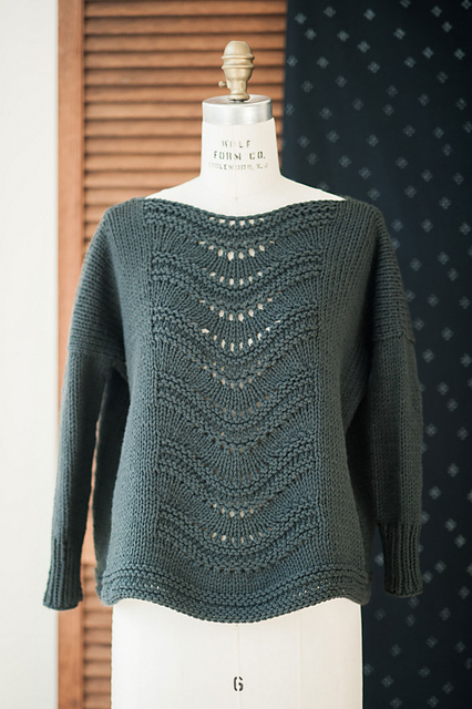 Gabrielle Sweater via Ravelry