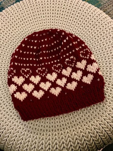 Sweet Heart Hat
