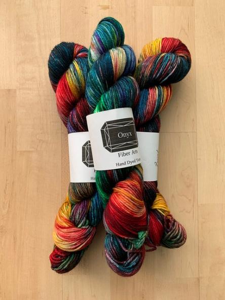 Onyx Fibers Burst DK Yarn