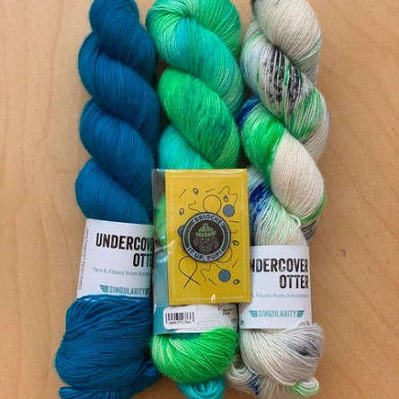 Undercover Otter yarn from Stephen and Penelope