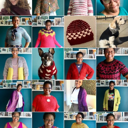 6 months of knitting