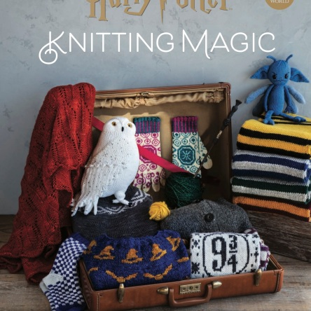 Harry Potter Knitting Magic book cover