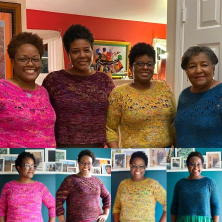 Family of Love Note sweaters